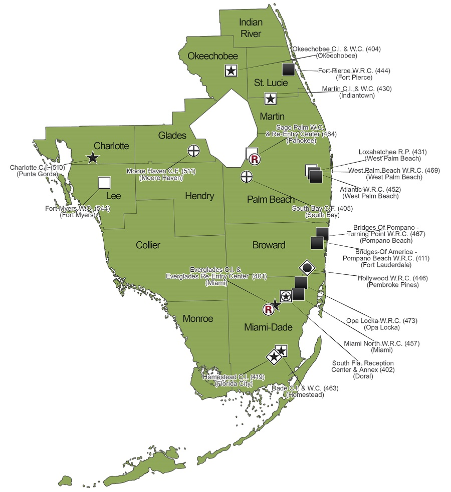 corretional department florida info inmate state